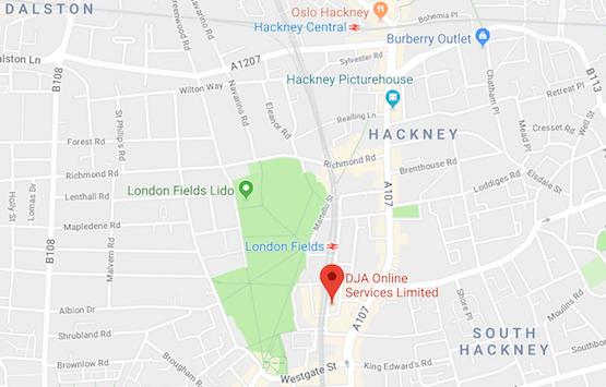 DJA Joomla Developers - London E8 3DQ